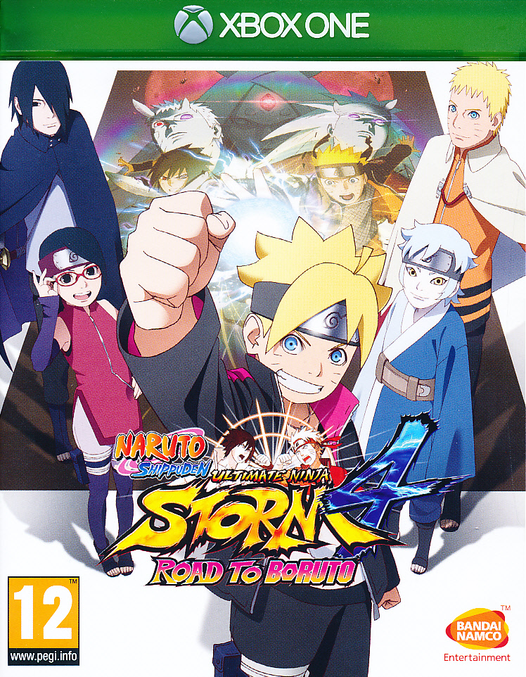 "Packshot for ""Naruto Shippuden UNS 4 Road to XBO"""