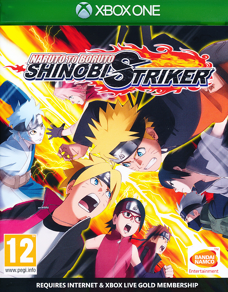 "Packshot for ""Naruto to Boruto Shinobi StrikerXBO"""