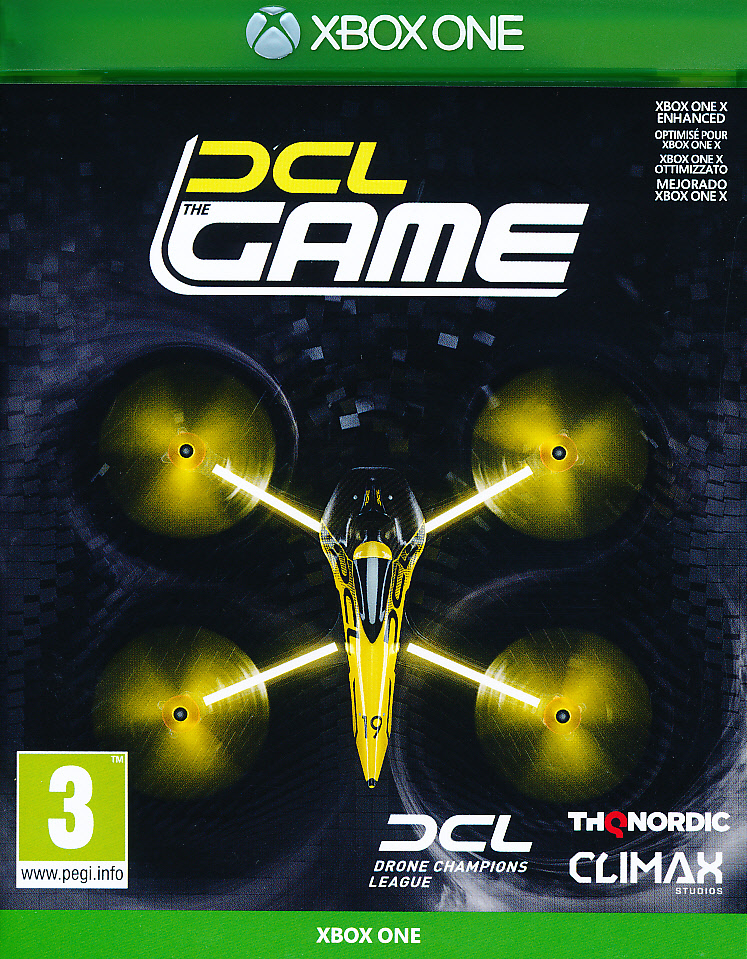 "Packshot for ""DCL Drone Championship League XBO"""