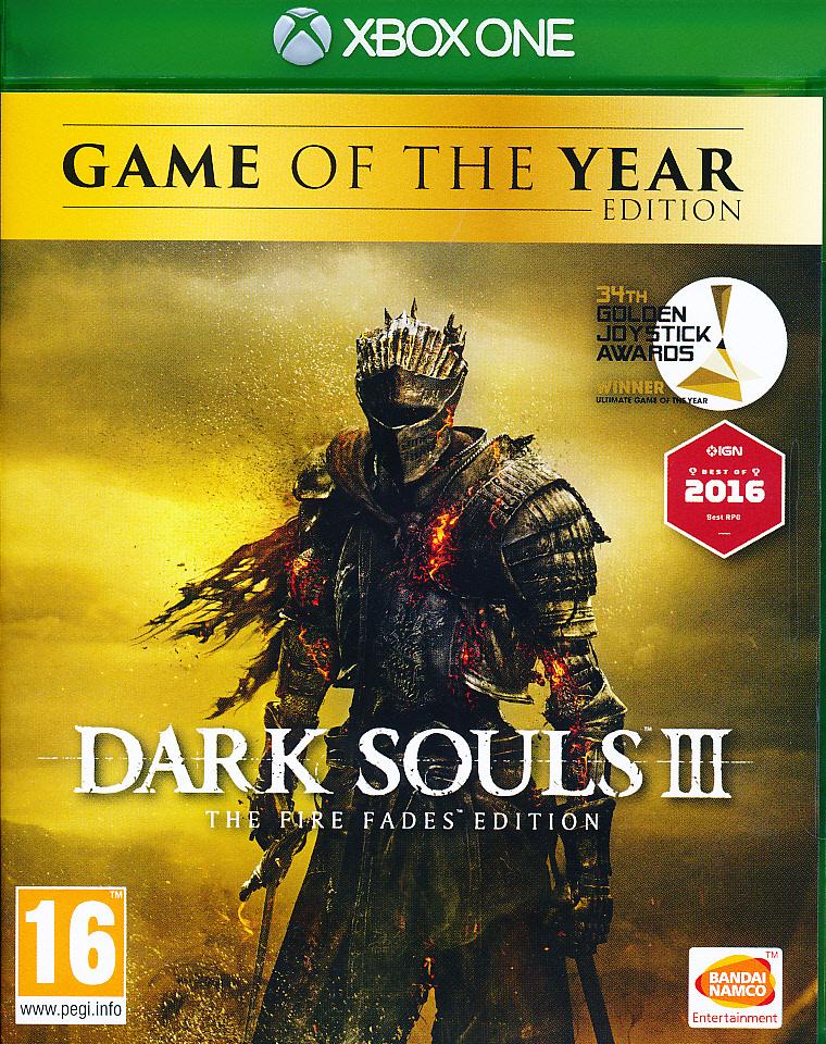 "Packshot for ""Dark Souls 3 Fire Fades GOTY XBO"""