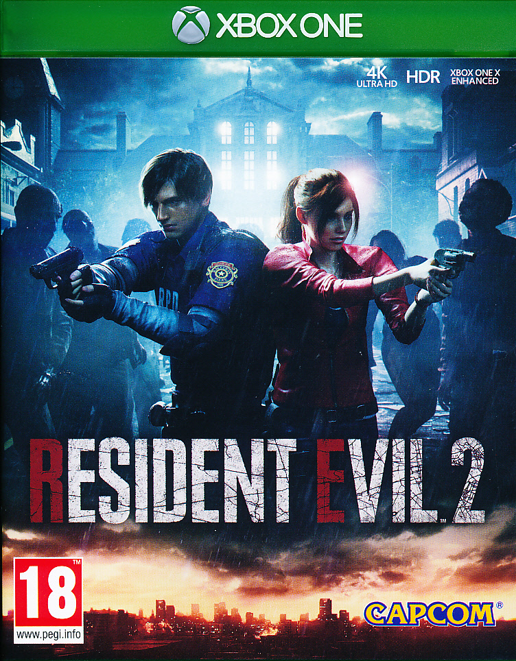 "Packshot for ""Resident Evil 2 Remake XBO"""