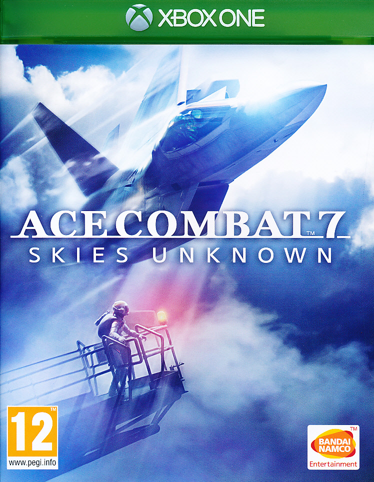 "Packshot for ""Ace Combat 7 Skies Unknown XBO"""
