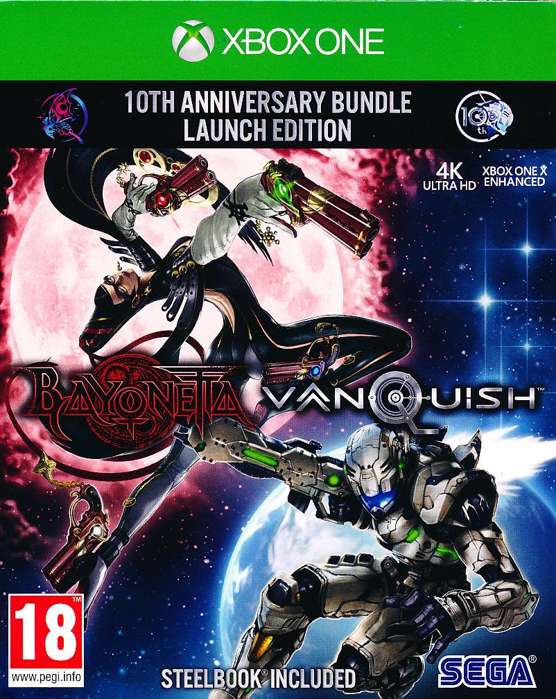 Bayonetta & Vanquish 10th Anni XBO
