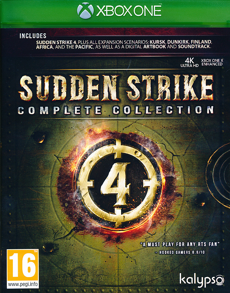 "Packshot for ""Sudden Strike 4 Complete Coll. XBO"""
