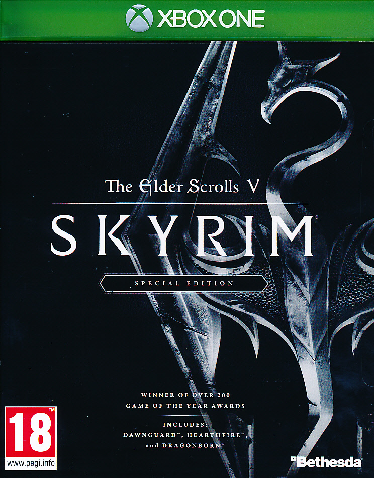 "Packshot for ""Elder Scrolls Skyrim Special Ed XBO"""