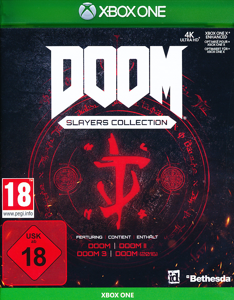 "Packshot for ""Doom Slayers Collection XBO"""