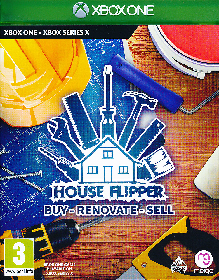 "Packshot for ""House Flipper XBO"""