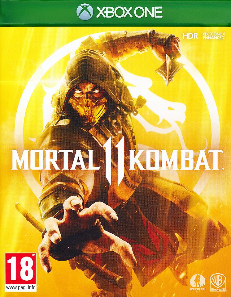 "Packshot for ""Mortal Kombat 11 XBO"""