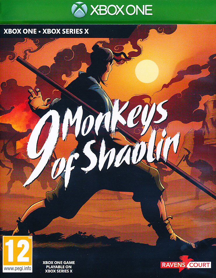 "Packshot for ""9 Monkeys of Shaolin XBO"""
