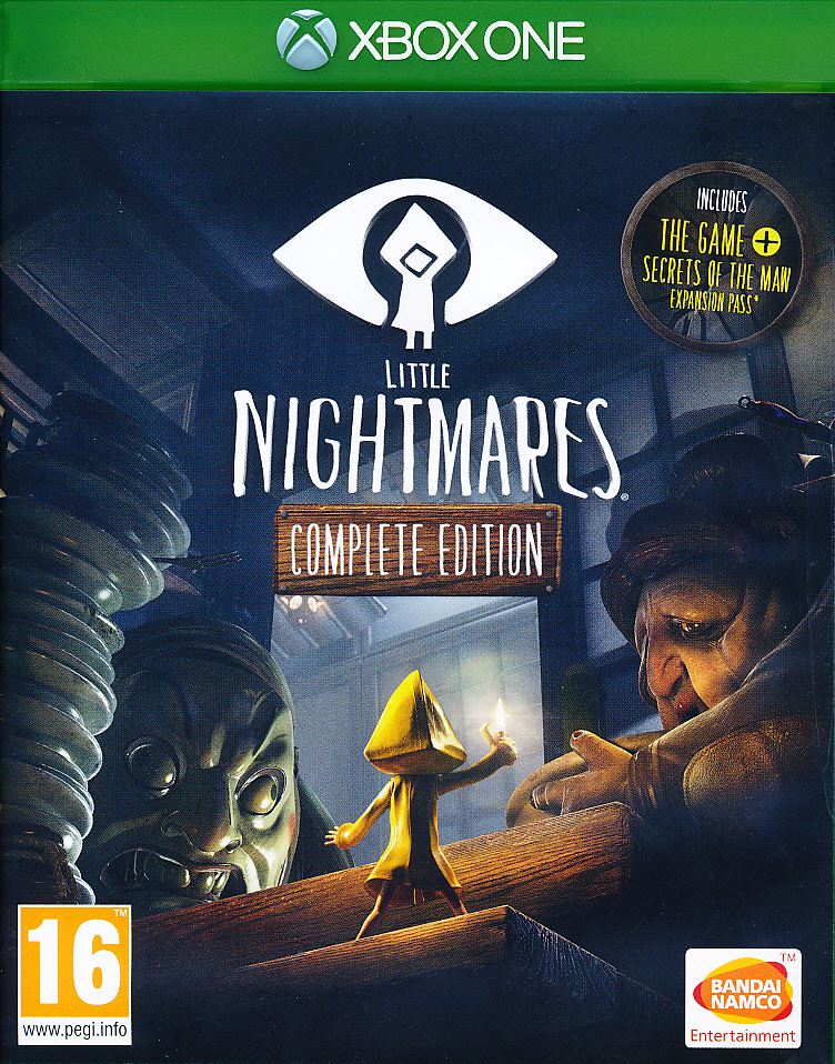 "Packshot for ""Little Nightmares Complete Ed. XBO"""