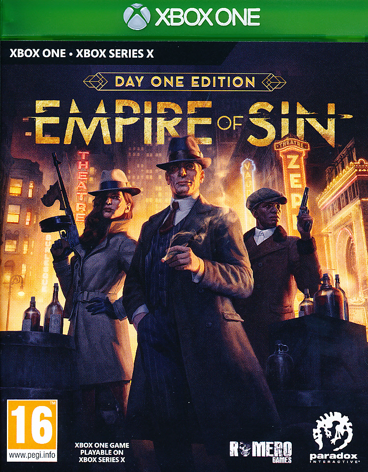 """Packshot for """"Empire of Sin Day One Ed. XBO"""""""