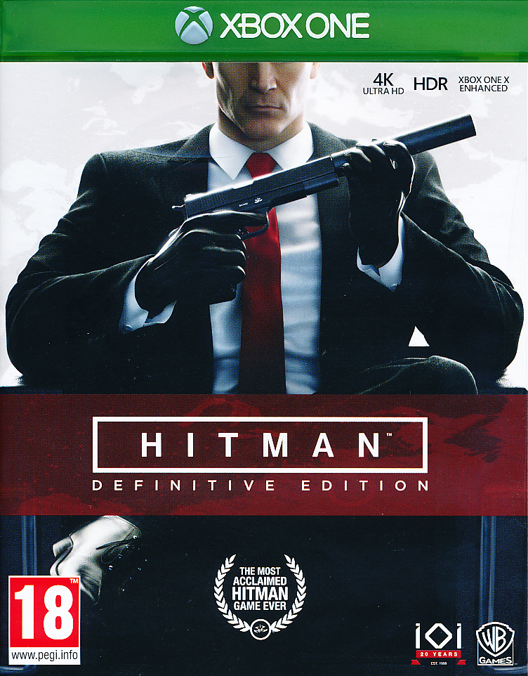 "Packshot for ""Hitman Definitive Edition XBO"""