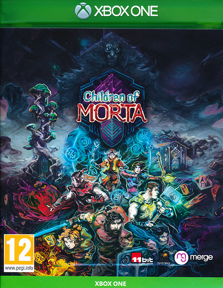 "Packshot for ""Children of Morta XBO"""