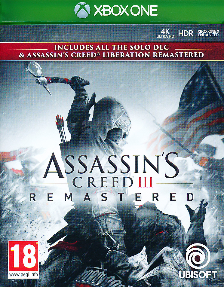 Assassins Creed III Remastered XBO
