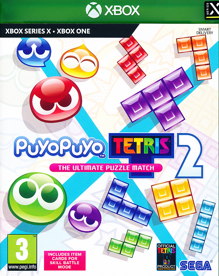 "Packshot for ""Puyo Puyo Tetris 2 XBO"""