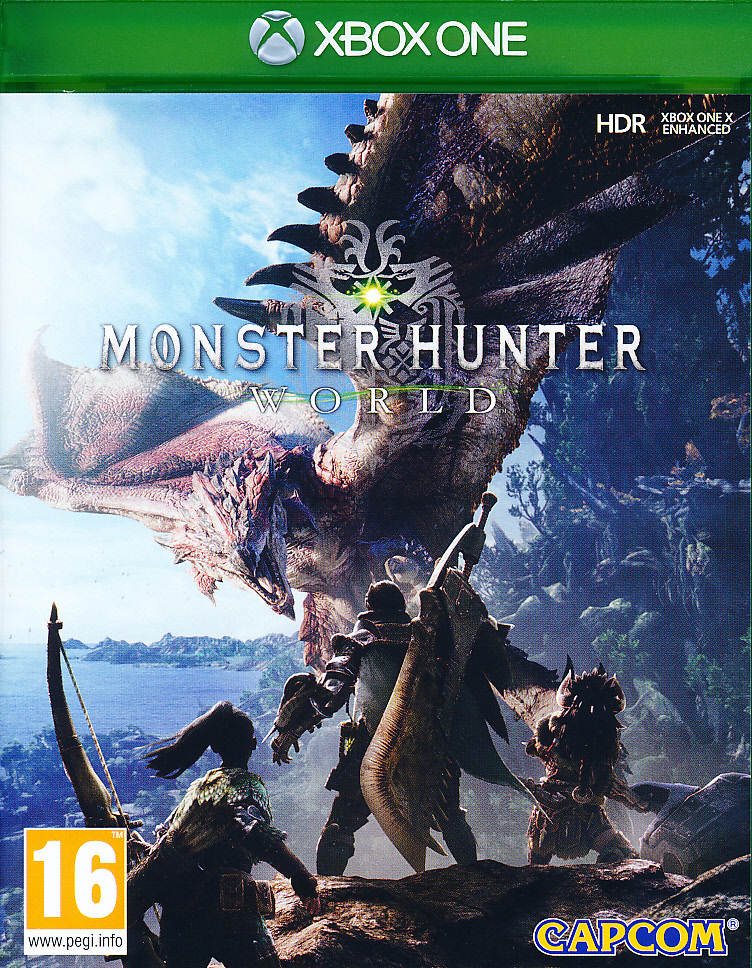 "Packshot for ""Monster Hunter World XBO"""