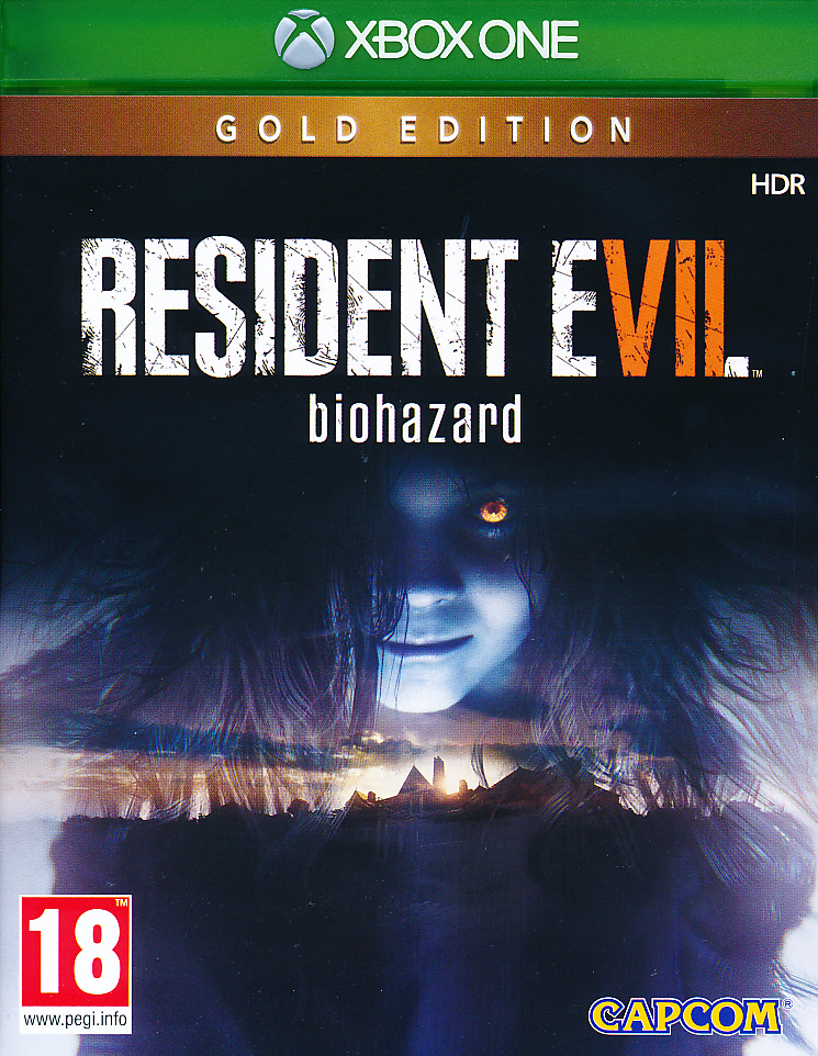 "Packshot for ""Resident Evil 7 Biohazard GOLD XBO"""