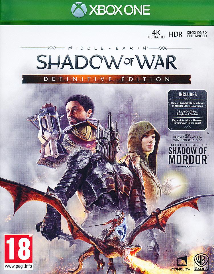 Middle Earth Shadow War Def.Ed. XBO