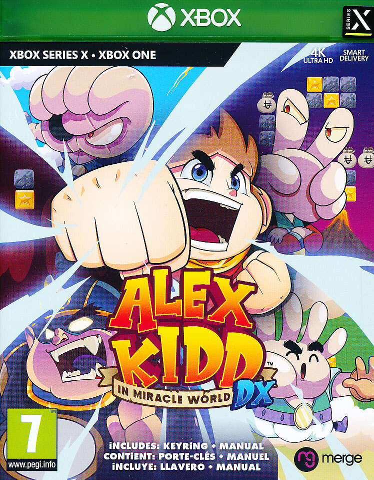 Alex Kidd in Miracle World DX XBO